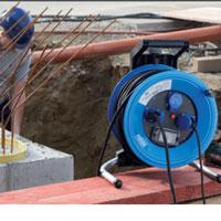 Neopren-Gummi-Leitung für den ständigen Einsatz im Freien mit Neopren-Gummi-Leitung