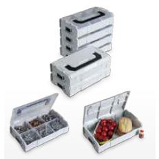 L-BOXX Mini Alles gut aufgehoben – ob Kleinstsortimente oder die tägliche Brotzeit