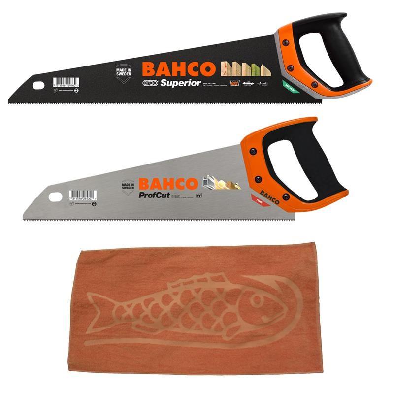 Bahco Handsägen – Die neue Generation Aktionspaket