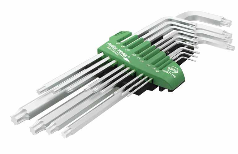 Wiha TORX® - Stiftschlüsselsatz im ProStar Halter. Titansilber, 13-tlg.