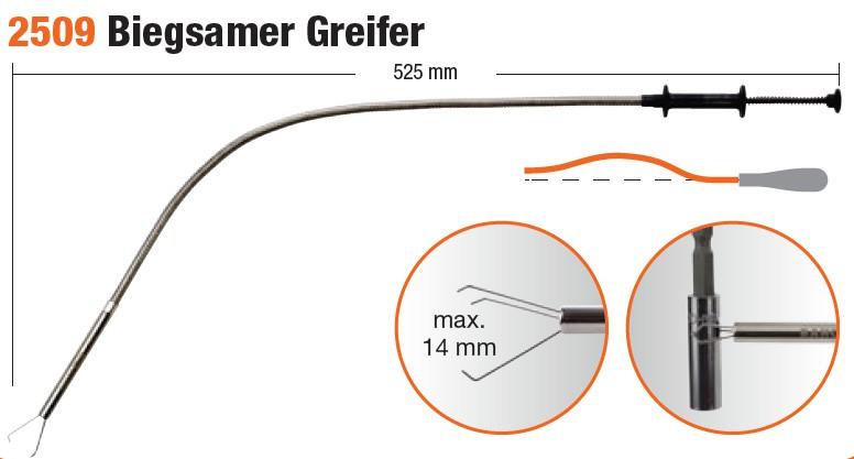 BAHCO Biegsamer Greifer