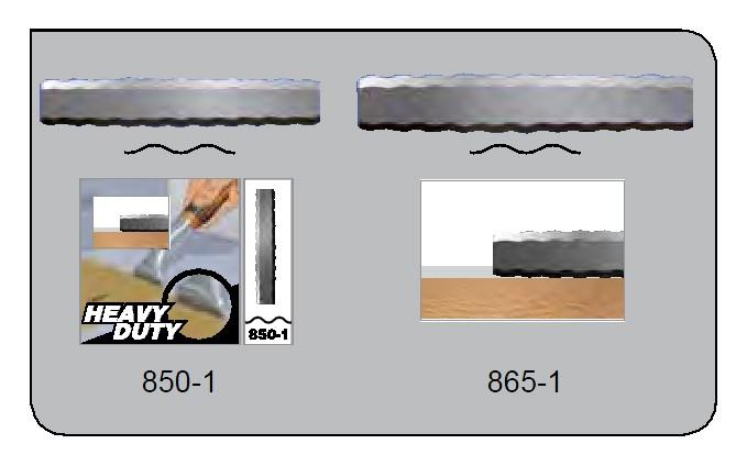 BAHCO 865-1 Farbschaberklinge mit 65mm Wellenschliff