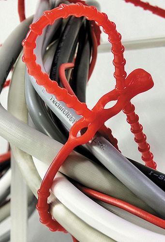 Kabelbinder lösbar Click Ties (Pro Verpackung 100 Stück)