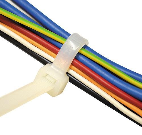 Kabelbinder Natur Breite 4,5 mm Länge 160 - 430 mm (Pro Verpackung 100 Stück)