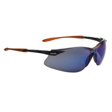 Bahco Schutzbrille, Blaue Gläser, 3870-SG12