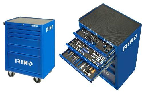 IRIMO Werkstattwagen mit Werkzeugsortiment, 177-teilig
