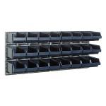 Sichtboxen-Wandpaneelx2 + 24 Sichtboxen 4-280
