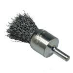 Pinselbürste mit Schaft gew. Draht 22 Ø Stahldraht 0,30