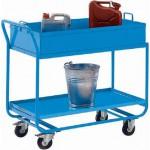 Tischwagen mit Auffangwanne bis 150 kg