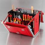 Favorit Werkzeugtasche Rot 7123