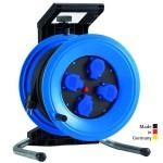 Kabeltrommel Professional  Plus 320 Kunststoff, Neopren-Gummi-Leitung mit 4 Einzelsteckdosen