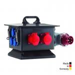 Steckdosenverteiler aus Vollgummi, Gehäusegröße (BxHxT): 380 x 265 x 380 mm