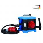 Mobile Verteilerstation LED m.STATION, mobil, 400 V mit zusätzlichem Lichtmodul