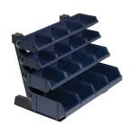 Sichtboxen-Tischständer Mix (mit 16 Boxen)