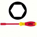 Wiha SoftFinish® electric Sechskant-Steckschlüssel