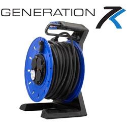 Generation 7 neue Vollkunststoff-Kabeltrommel