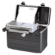 Notebook und System-Koffer