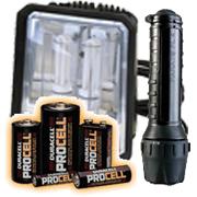 View Lampen und Batterien