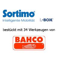 Sortimo L-BOXX bestückt mit BAHCO Werkzeugen