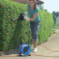 Gerätekabeltrommeln PVC-Leitung Einsatz trockener Umgebung