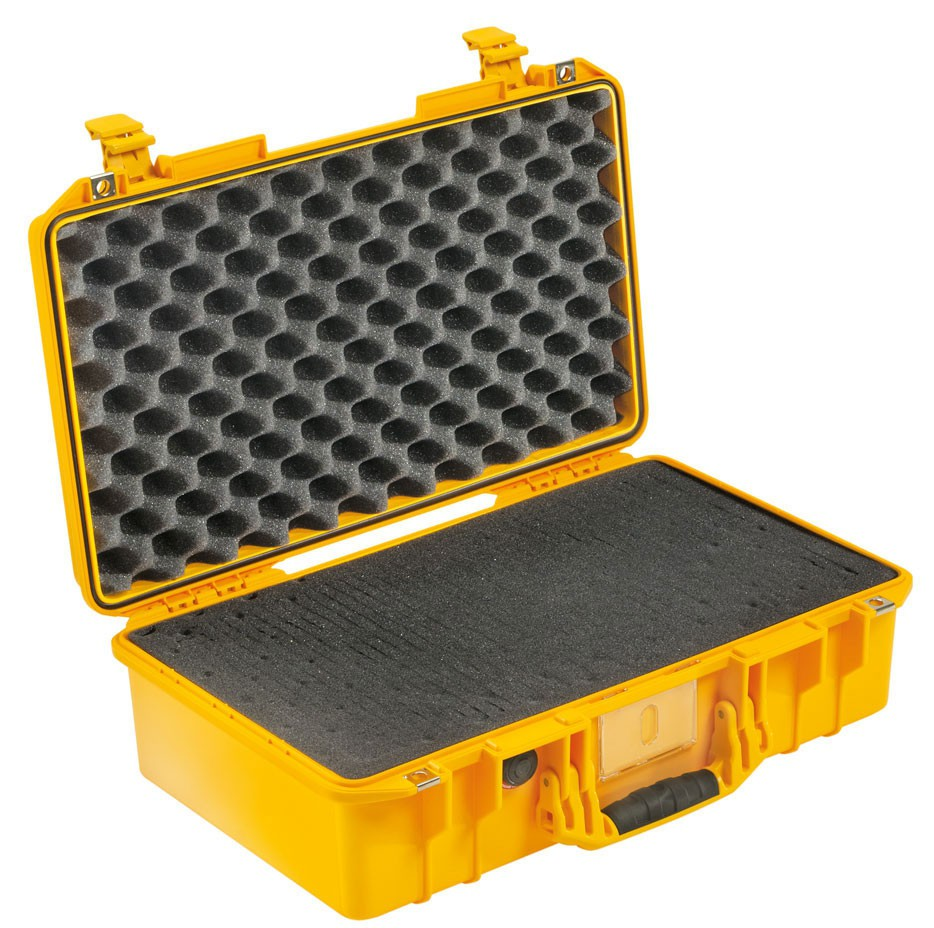 Peli Schutzkoffer 1525Air mit Schaumeinsatz, gelb