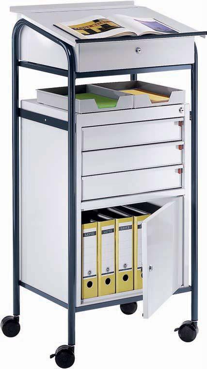 Werkstatt-/ Arbeitspult mit Schrank und 3 Schubladen