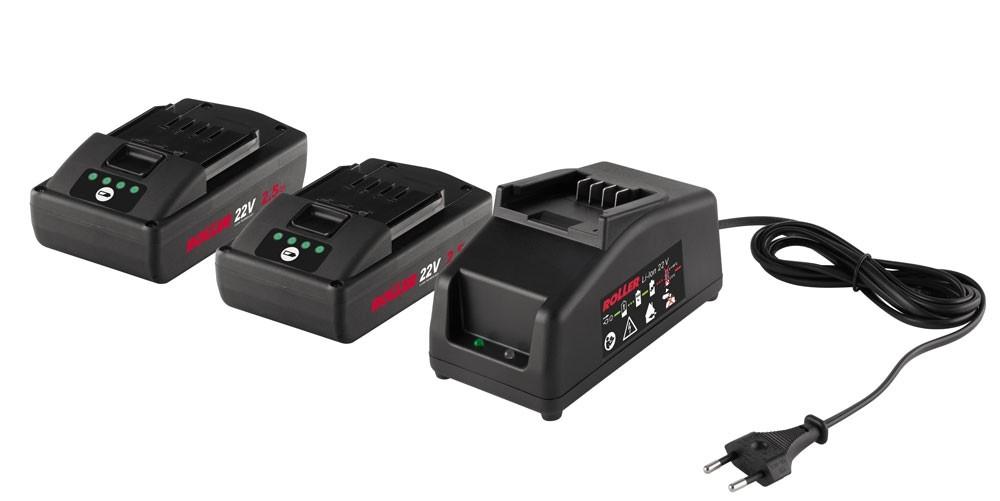 ROLLER'S Power-Pack 21,6V, 2,5Ah - 230V, 70W
