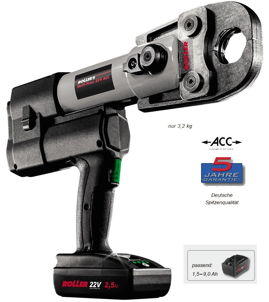 ROLLER'S Multi-Press 22 V ACC