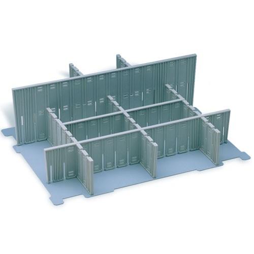 Fachteiler 120 x 400 hoch, für systainer® T-Loc II lichtgrau