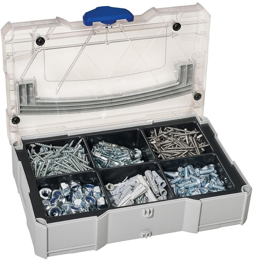 MINI-systainer® T-Loc I für Kleinteile mit 6-fach Einteilung