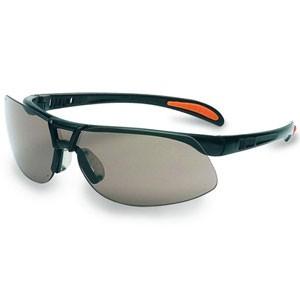 Schutzbrille Protégé schwarz, Scheibe klar