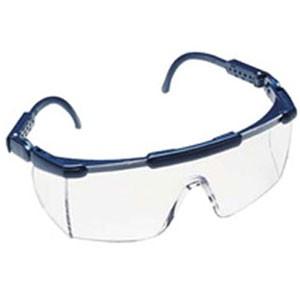 Schutzbrille Santa Cruz blau, Scheibe klar