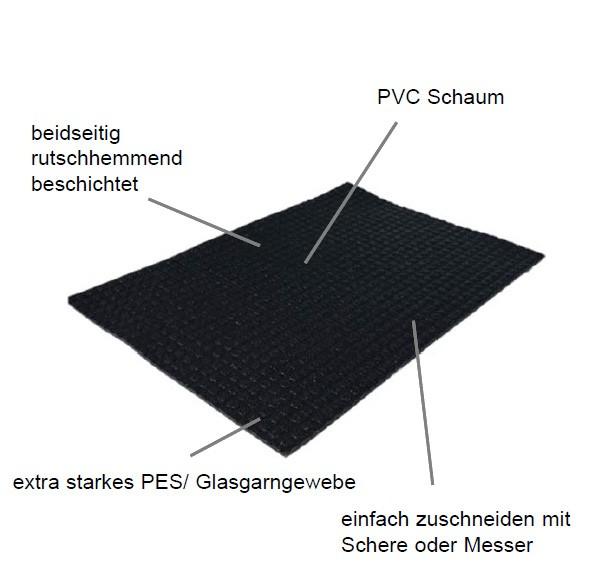 Antirutschmatte T-TEC Roll Bezeichnung