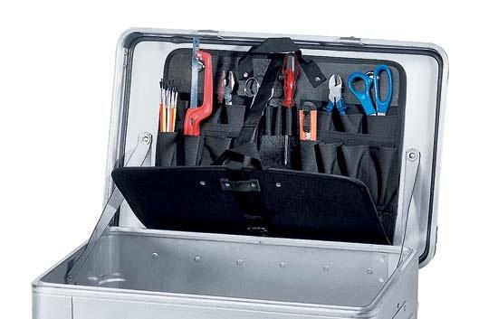 Werkzeugtasche selbstklebend, offen 40630