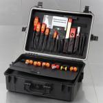 SOLID Wasserdichter Polypropylen-Werkzeugkoffer 5625
