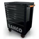 Bahco Werkstattwagen, schwarz, mit 7 Schubladen