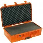 Peli Schutzkoffer 1555Air mit Schaumeinsatz, orange