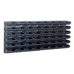 Sichtboxen-Wandpaneelx2 + 48 Sichtboxen 2-80