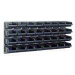 Sichtboxen-Wandpaneelx2 + 32 Sichtboxen 3-160