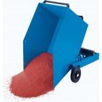 Blech-Kastenwagen mit kippbarem Kasten: 250l