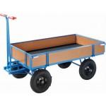 Handpritschenwagen, bis 500 kg, mit 4 Bordwänden