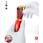 Wiha Magazin-Bithalter LiftUp electric mit 6 slimBits. Schlitz/PH/SL/PZ2