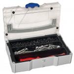 MINI-systainer® T-Loc I für Kleinteile mit 3-fach Einteilung
