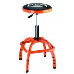 BLE305 Gepolsterter Werkstatt Drehhocker Stuhl, pneumatisch