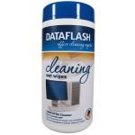 DATAFLASH DF1512 Nass-Reinigungstücher für Computer