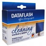 DATAFLASH DF1532 Nass-/Trocken- Reinigungstücher für Bildschirme