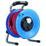 HEDI Kabeltrommel Primus Kunststoff, 40 m H07RN-F 3G1,5, DiagS, Kabel: rot