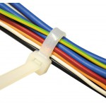 Kabelbinder Natur Breite 7,5 mm Länge 280 - 750 mm (Pro Verpackung 100 Stück)