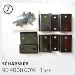 Scharnier - Griff HEPCO & BECKER