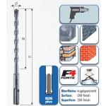 """SDS-plus Hammerbohrer """"F4"""" mit 2 Schneiden 210 mm"""